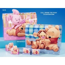 Portaconfetto Winnie the Pooh rosa