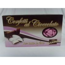 Confetti a cuoricino rosa