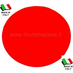 50 PEZZI TULLE ROSSO MADE IN ITALY