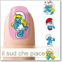 "STICKERS NAIL ART UNGHIE ""PUFFI"""