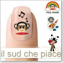 "STICKERS NAIL ART UNGHIE ""SCIMMIETTE FOLLI"""