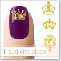 "STICKERS NAIL ART UNGHIE ""CORONE"""