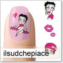 "STICKERS NAIL ART UNGHIE ""BETTY BOOP"""