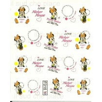 "STICKERS NAIL ART UNGHIE ""MINNIE"""