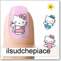 "STICKERS NAIL ART UNGHIE ""HELLO KITTY"""