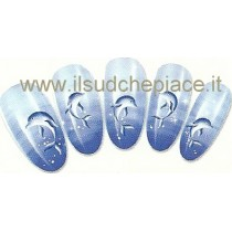 "STICKERS NAIL ART UNGHIE ""DELFINI"""