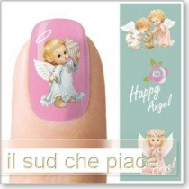 """STICKERS NAIL ART UNGHIE """"ANGIOLETTI"""""""