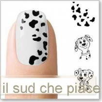 "STICKERS NAIL ART UNGHIE ""DALMATA"""